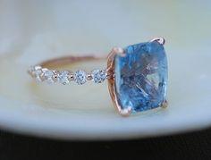 Boho Loves: The New Line of Eidelprecious Sapphire Engagement Rings