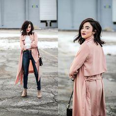 Karissa M. - Pink Trenchcoat