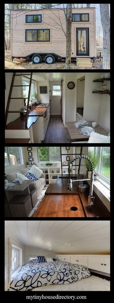 This 20' Tiny Home on Wheels has been named one of the Top 25 Tiny Homes in the United States by VacationIdea.com We can see why!...