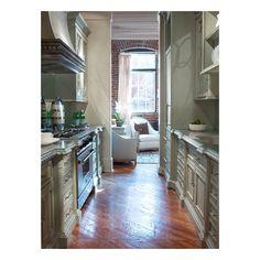 habersham Habersham Galley Kitchen Cabinetry
