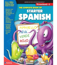 Busy Kids Learning American Education The Complete Book of Starter Spanish