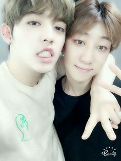 seungcheol and minghao