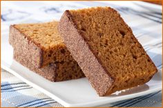 "Gingerbread Pound Cake - With ""Fitness"" In Mind - Amazing Health Recipes A healthy Pound Cake That is Delicious? https://www.facebook.com/AmazingHealthRecipes"