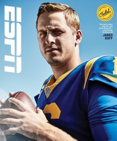 """Los Angeles Rams on Instagram: """"November's issue of ESPN The Magazine: The California Cool of Jared Goff."""" High School Cheerleading, Jared Goff, Nfl Championships, La Rams, Body Issues, California Cool, Athletic Men, National Football League, Espn"""