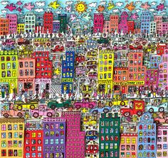 James Rizzi - Take A Look Around My Town