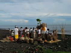 Pantai Amed beach holy hotspot for Bali ceremonies