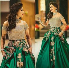 Looking for Bridal Lehenga for your wedding ? Dulhaniyaa curated the list of Best Bridal Wear Store with variety of Bridal Lehenga with their prices Indian Wedding Gowns, Indian Bridal, Indian Dresses, Indian Outfits, Pakistani Bridal, Indian Weddings, Saree Wedding, Wedding Wear, Dress Wedding