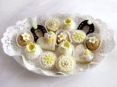 Domácí tvoření - Fotoalbum - Svatební cukroví - Svatební cukroví - barevné variace