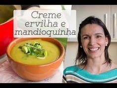 CREME DE ERVILHA com mandioquinha (batata baroa): receita gostosa e leve para o inverno - YouTube