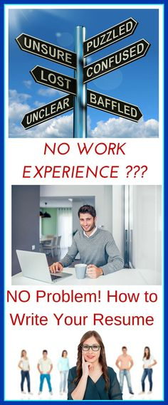 How to Write a Resume When You Have No Experience