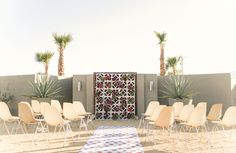 MID-CENTURY MODERN PALM SPRINGS WEDDING INSPIRATION AT HOTEL LAUTNER-Palm Springs Style Magazine
