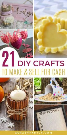 Craft Fair Ideas To Sell, Easy Crafts For Teens, Money Making Crafts, Quick And Easy Crafts, Diy Crafts How To Make, Diy Projects To Sell, Homemade Crafts, Easy Diy Crafts, Crafts To Make And Sell Easy