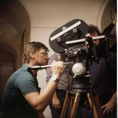 """Rainer Werner Fassbinder : tournage du film """"Le rôti de Satan"""" (Satansbraten), Felicitas Timpe Munich, Bayerische Staatsbibliothek, Abteilung Karten und Bilder"""