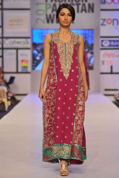 Umar Sayeed at Fashion Pakistan Week 2012 Day 2