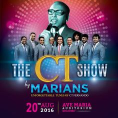 THE CT SHOW BY MARIANS LIVE IN NEGOMBO  http://www.srilankanentertainer.com/sri-lanka-events/ct-show-marians-live/