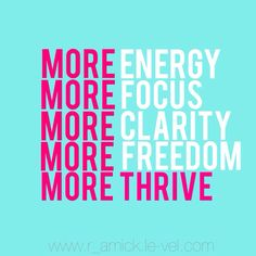 What thrive does for me
