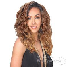 Zury Sis Synthetic Hair Dual Color Reversible Half Wig - CF H RV SELINA [10975]
