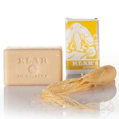 Klar's basische Ginsengseife -  Ausgleichend wirkende basische Seife mit Ginseng aus Deutschland.
