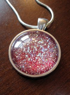 DIY Glitter Pendant  And Images can be found here :) https://www.etsy.com/shop/destinysdigitals717?ref=si_shop really into the glitter jewels ✨