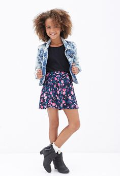 Love floral and skater skirts so this is something I love!