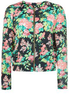 Primark SS14 Bright Floral Bomber Jacket, £15