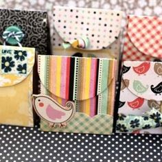 Pretty Homemade Gift Boxes: templates & tutorials