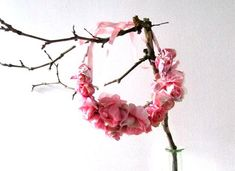 Etsy.com handmade and vintage goods - DIY flower crown