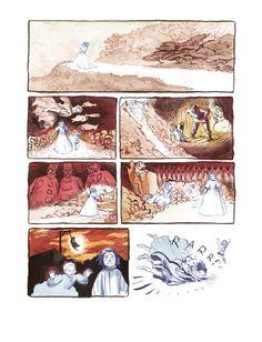 Alexis Deacon - The River, panel 4. Amazing work.