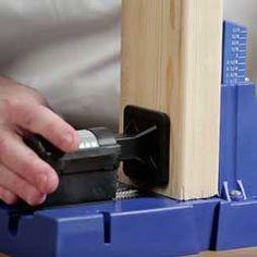 Kreg Jig® Master System - The Most-Advanced Kreg Jig® Yet, Plus Premium Kreg Accessories Diy Wood Projects, Home Projects, Wood Crafts, Built In Storage, Tool Storage, Kreg Jig K5, Kreg Pocket Hole Jig, Kreg Tools, Template
