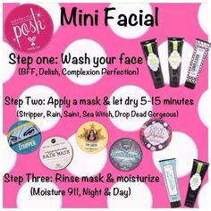 Mini facials in your own home at an affordable www.perfectlyposh.com/apetrick
