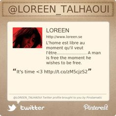 Vote for Loreen! #ESC2012 @LOREEN_TALHAOUI's Twitter profile courtesy of @Pinstamatic (http://pinstamatic.com)
