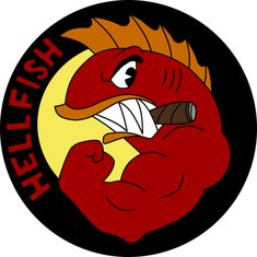 Buy 'HELL FISH' by Paulhannah as a Sticker, Transparent Sticker, or Glossy Sticker Seymour Skinner, Charles Montgomery, Montgomery Burns, The Simpsons Game, Ralph Wiggum, Ned Flanders, Comic Book Guy, Simpsons Tattoo, Homer Simpson