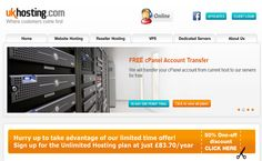 Ukhosting giveaway: Win Free cPanel And Reseller Hosting Accounts with Free domain for  1 year.