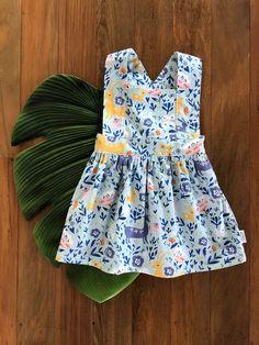 Floral Woodland Pinafore Easy Wear, Cute Kids, Woodland, Elastic Waist, Tights, Rompers, Summer Dresses, Floral, Gem