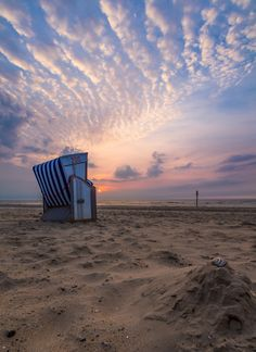 Beach Chair on Norderney Island