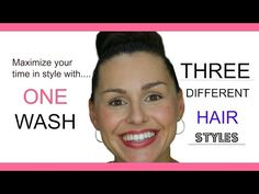 One Wash. Three Days of Quick and Easy Hair Three Days, Easy Hairstyles, Music, Musica, Musik, Simple Hairstyles, Easy Hairstyle, Muziek