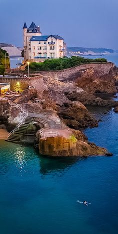 La Villa Belza, à Biarritz                              …