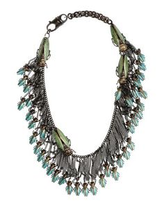 I found this great VERNISSAGE Necklace for $1108 on yoox.com. Click on the image above to get a code for Free Standard Shipping on your next order. #yoox