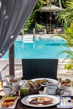 Breakfast for two... #BoutiqueHotel #RivieraMaya #Mexico.