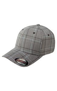 Glen Check Cap - This cap is made from polyester and spandex (comfortable stretch, yet super sturdy! Fitted Caps, Perfect Fit, Baseball Hats, Stuff To Buy, Spandex, Check, Style, Fashion, Baseball Caps