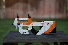 Lock and load a LEGO Counter Strike P90 Asiimov