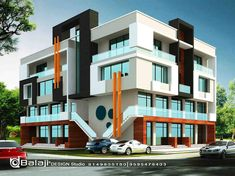 House Architecture Styles, Building Architecture, Building Design, Modern Architecture, House Front Design, Small House Design, Modern House Design, Building Elevation, House Elevation