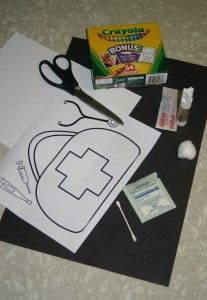 Doctors bag craft jesus heals sunday school crafts new for Doctor crafts for toddlers