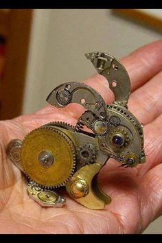 Steam punk clockwork rabbit
