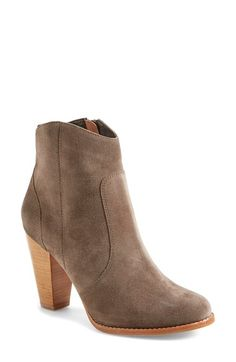 Free shipping and returns on Joie 'Dalton' Boot (Women) at Nordstrom.com. A sculptural stacked heel grounds a Western-inspired bootie crafted from soft suede.