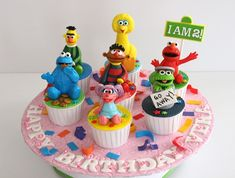 401 Best Sesame Street Cakes Images Parties Kids Sesame