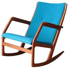Danish Modern Rocker by Soren Georg Jensen