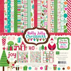 Echo Park - Holly Jolly Christmas Collection - 12 x 12 Collection Kit at Scrapbook.com $13.99