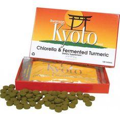 Swanson Kyoto Brand Chlorella & Fermented Turmeric 120 Tablets - Dietary Supplement