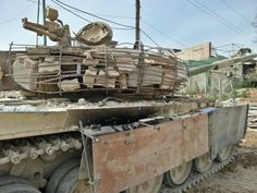 Советский танк Т-72Б1 в Сирии